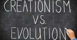 creationism vs evolution